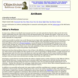 Anthem by Ayn Rand (Full Text with Annotations)