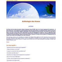 Anthologie des Koans