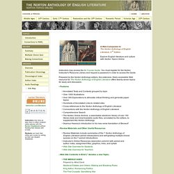 The Norton Anthology of English Literature online
