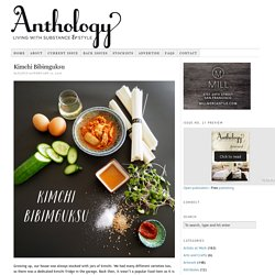 Anthology Magazine – Living with Substance and Style