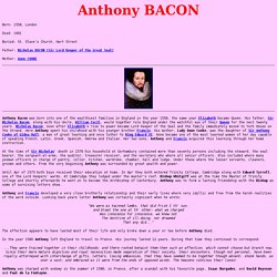 Anthony BACON