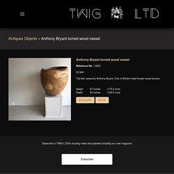Anthony Bryant turned wood vessel