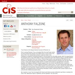 Anthony Falzone | Stanford Center for Internet and Society