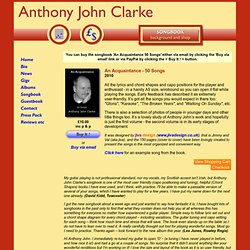Anthony John Clarke - songbook