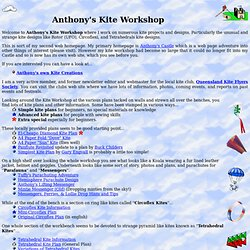 Anthony's Kite Workshop