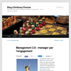 Management 2.0 : manager par l'engagement