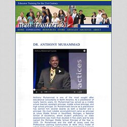 Dr. Anthony Muhammad