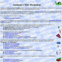 Anthony's Kite Workshop