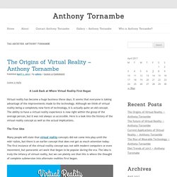 Anthony Tornambe Archives