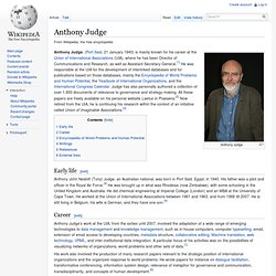 Anthony Judge