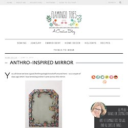 Anthro-Inspired Mirror & Flamingo Toes - StumbleUpon
