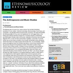 The Anthropocene and Music Studies