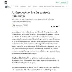 Anthropocène, ère du contrôle numérique - Anthropocene 2050 - Medium