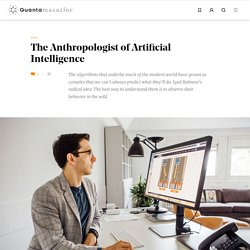 Iyad Rahwan Is the Anthropologist of Artificial Intelligence