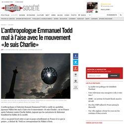 L'anthropologue Emmanuel Todd mal à l'aise avec le mouvement «Je suis Charlie»