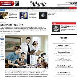 Anthropology Inc. - Graeme Wood