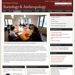 Sociology & Anthropology