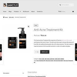Anti-Acne Treatment Kit - Sanctus
