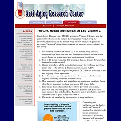 Anti-Aging: New Strategies Are Needed!
