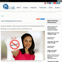 Anti-BullyingResources - NCCJ
