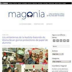 Los antiantenas de la ikastola Ibaiondo de Vitoria llevan gorros protectores de papel de aluminio - Magonia