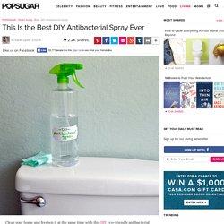 DIY Antibacterial Spray