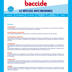 definition de antibiiotique, antibactérien, antifongique, antiseptique, biocide....