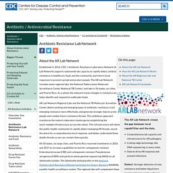 CDC 03/08/17 Antibiotic Resistance Lab Network