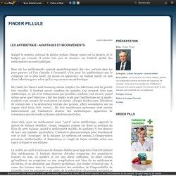 Les antibiotique - avantages et inconvénients - Finder Pillule