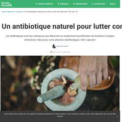 Un antibiotique naturel pour lutter contre les infections ? En voici 10