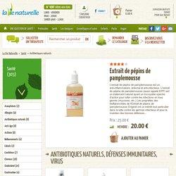 Antibiotiques naturels, immunité, défenses naturelles