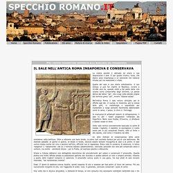 Il sale nell'antica Roma insaporiva e conservava