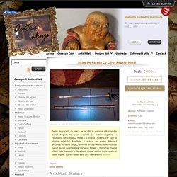 Sabie De Parada Cu Cifrul Regelui Mihai - Magazin Antichitati Online Antic Shop Antichitate, Produse Antice
