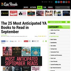 The 25 Most Anticipated YA Books to Read in September