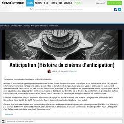Anticipation (Histoire du cinéma d'anticipation) - Liste de 122 films