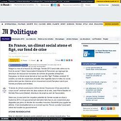 Une étude anticipe un climat social atone en France pour 2013