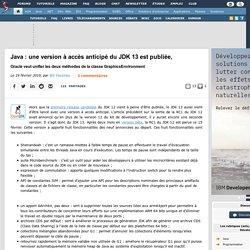 Java : une version à accès anticipé du JDK 13 est publiée, Oracle veut unifier les deux méthodes de la classe GraphicsEnvironment