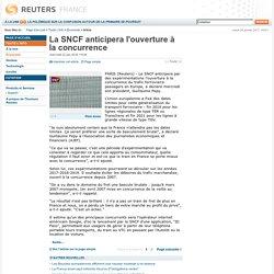 La SNCF anticipera l'ouverture à la concurrence