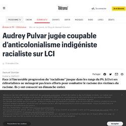 Audrey Pulvar jugée coupable d'anticolonialisme indigéniste racialiste sur LCI
