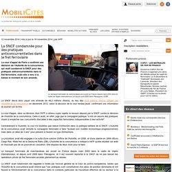 La SNCF condamnée pour des pratiques anticoncurrentielles dans le fret ferroviaire