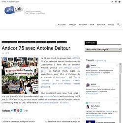 Anticor 75 avec Antoine Deltour