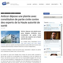 Anricor dépose une plainte avec constitution de partie civile contre des experts de la Haute autorité de santé