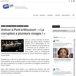 Anticor à Pont-à-Mousson : «La corruption a plusieurs visages !»