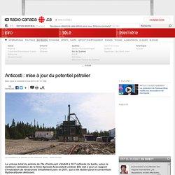Anticosti : mise à jour du potentiel pétrolier