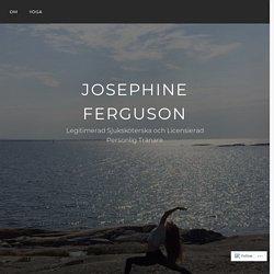 ANTIDEPP-DIETEN – ÄT DIG LYCKLIG! – Josephine Ferguson