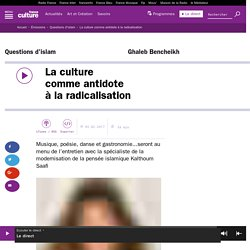 La culture comme antidote à la radicalisation / France Culture