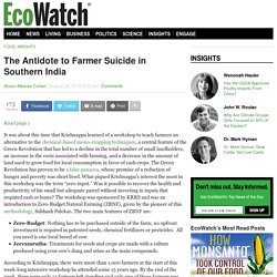 The Antidote to Farmer Suicide in Southern India » Page 2 of 2