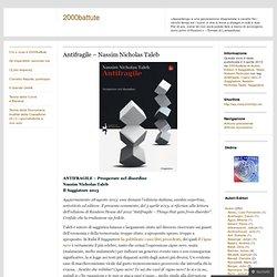 Antifragile – Nassim Nicholas Taleb