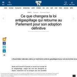 Ce que changera la loi antigaspillage qui retourne au Parlement pour son adoption définitive