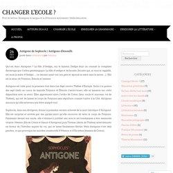 Antigone de Sophocle / Antigone d'Anouilh